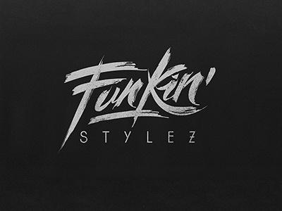 Funkin´ Stylez logo design cover artwork and poster design
