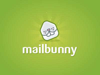 Logo MailBunny mail bunny rabbit logo icon