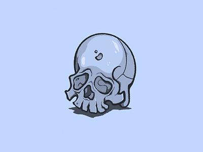 Skull Sketch skull skull art anatomy procreate app digital illustration illustration illustrator