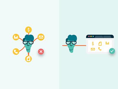 Hopskip Microsite Illustrations ux identity ui branding illustration illustrator vector