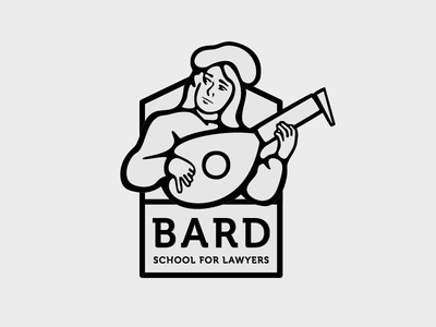 Bard Logo Proof illustration illustrator vector identity branding logo