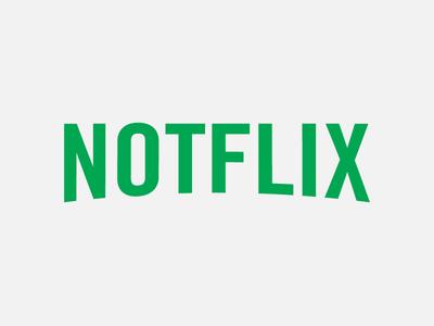 Notflix illustration illustrator vector identity branding logo