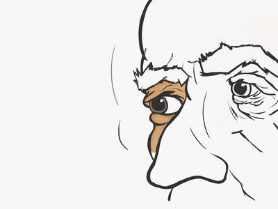 Testing Procreate App  digital art portrait procreateapp illustration drawing sketch ipad pencil ipad