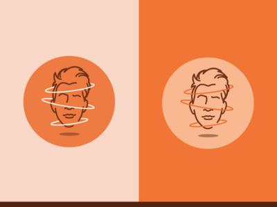 Logo Redesign illustration line art vector avatar logo branding