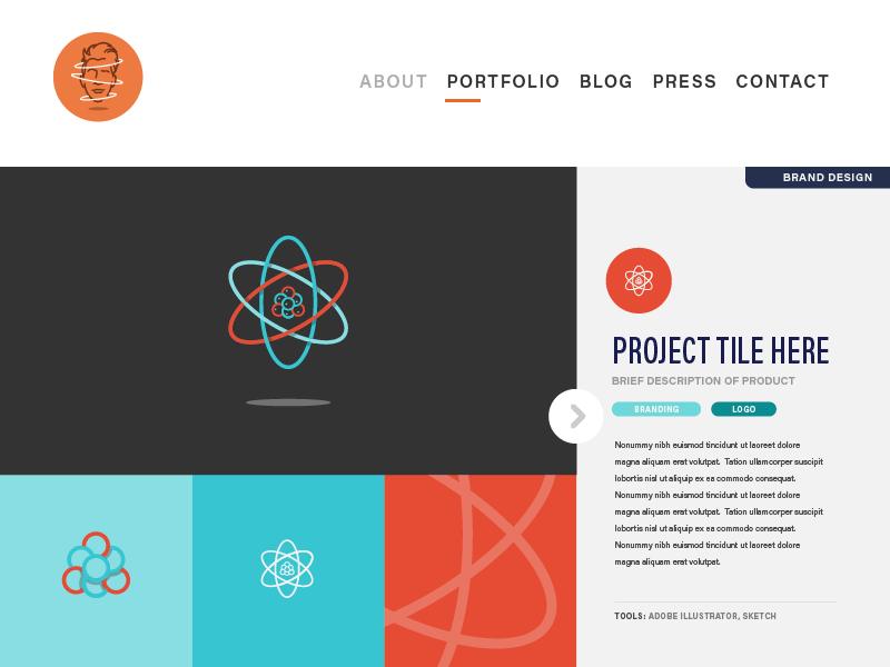 UI Exploration portfolio branding logo vector dev process ui