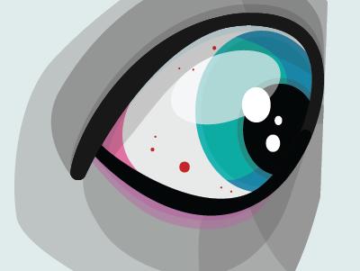 Eye 2018 eye cartoon illustration illustrator vector