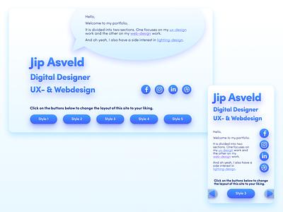 👉𝘿𝙚𝙨𝙞𝙜𝙣-𝙢𝙮-𝙣𝙚𝙬-𝙥𝙤𝙧𝙩𝙛𝙤𝙡𝙞𝙤 𝙘𝙝𝙖𝙡𝙡𝙚𝙣𝙜𝙚. 𝗗𝗮𝘆 𝟬𝟳.👈 uitrends uidesign portfoliowebsite portfoliodesign portfolio website webdesign