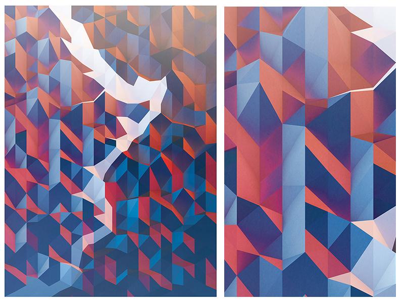 The Horn - Poster Design poster geometric cinema 4d design 3d