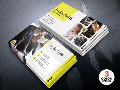 Creative Freelancer Business Card