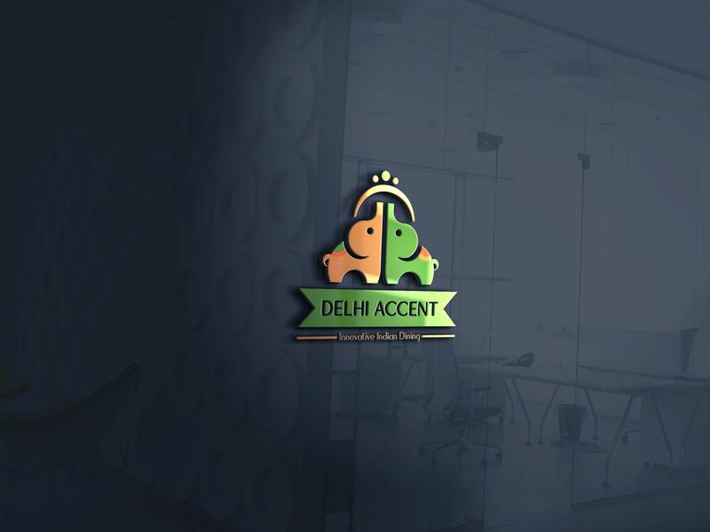 Elephant Logo Design ( indian Restaurant )