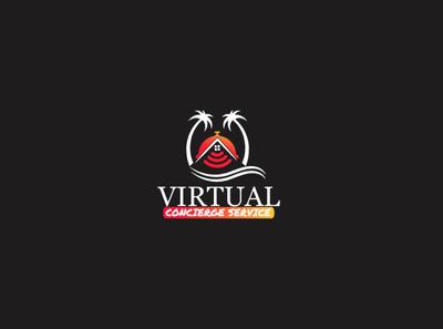 Sea Beach Virtual Service Logo Design