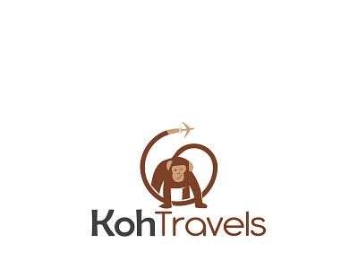 Monkey Travel design branding logotype logodesign logo logo design monkey travel monkey travel