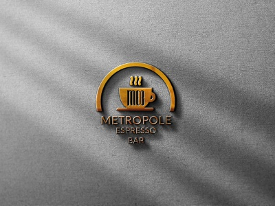 Coffee Bar logo Design design branding logotype logodesign logo design logo