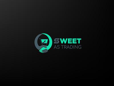 Sweet Trading Logo Design branding logo graphic design sweet trading logo design