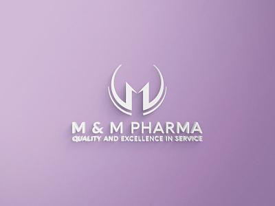 M Letter Logo Design branding graphic design logo 3d m letter logo design