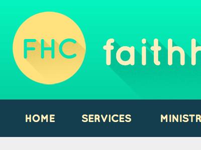 FHC Logo logo header masthead navigation