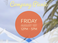 Picnic Flyer Time Details