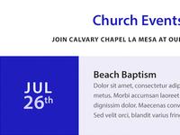 Calvary Chapel La Mesa Event
