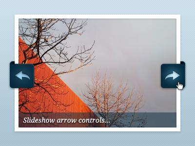Slideshow arrows