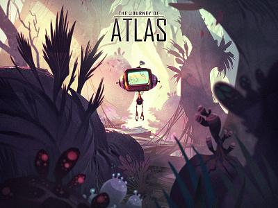 The Journey of Atlas creaturebox robot sci-fi