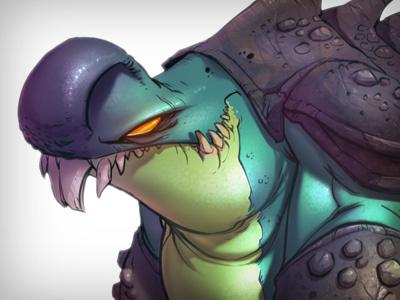 Sniff Sniff Grrrrrrrr... monster beast illustration creaturebox