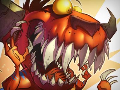 Thorndyke thorndyke creaturebox monster creature illustration