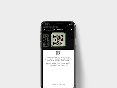 August/Yale app QR Code Setup smart lock ui startup ux iot internet of things setup qr code