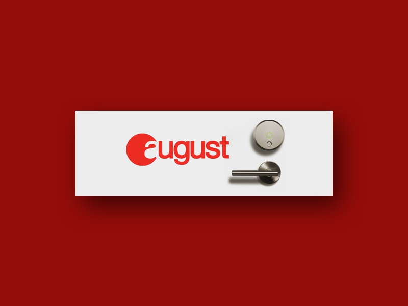 August Home App Banner app store banner apple watch home automation smart lock lock iot august august home