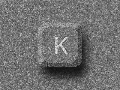 Felt Key Render in Sketch (Exploration) explore rendering laptop microsoft highlight shadow icon render felt keyboard key sketch