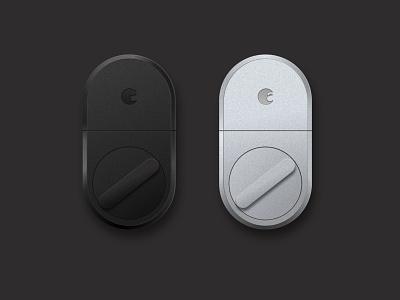 August Smart Lock Renders (Gen 3) ux ui app startup install device sketch render internet of things iot smart lock august smart lock august