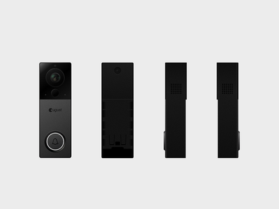 August View Renders smart lock startup internet of things design renders render sketch hardware august view august doorbell doorbell cam