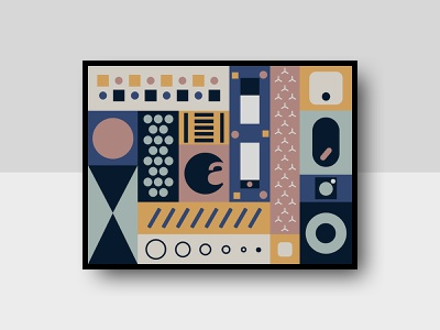 Poster Design graphic design internet of things iot poster art art scandinavian abstract august brand graphic poster