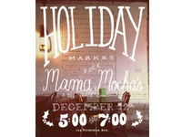 Holiday Market Poster/Flyer