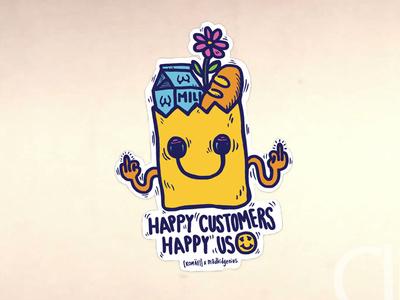 Happy Customers = Happy Us 😃