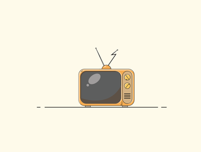 tv illustration