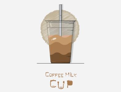 Coffee Milk Cup