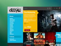 dizzyTV movie app