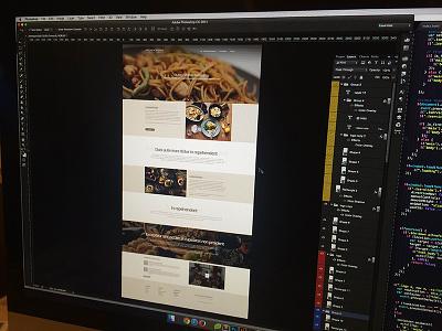 kitchencreates's website kitchencreates development design coffe food cook
