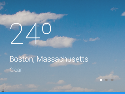 Material design weather app weather app material design google android ui ux mobile