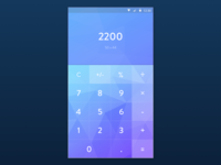 Material design calculator
