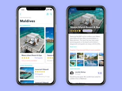 Hotel Search app