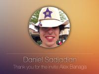 Thank you Alex Banaga :)