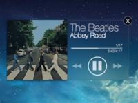 iOS 7 Music Widget