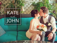 Kate and John save the date