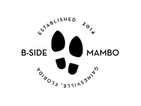 B-Side Mambo logo exploration - concept 1
