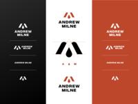 Andrew Milne Brand Elements branding and identity branding design red logo mark logo style guide brand branding