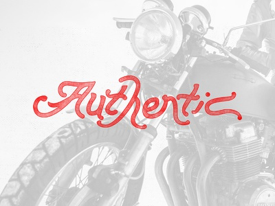 Authentic typography lettering design by diamond designbydiamind authentic custom handrawn