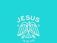 Jesus is alive   2016 scroll