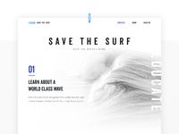 Design by diamond   save the surf   web design 1x