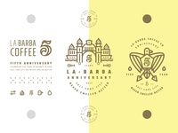 La Barba 5 Year Brand Elements